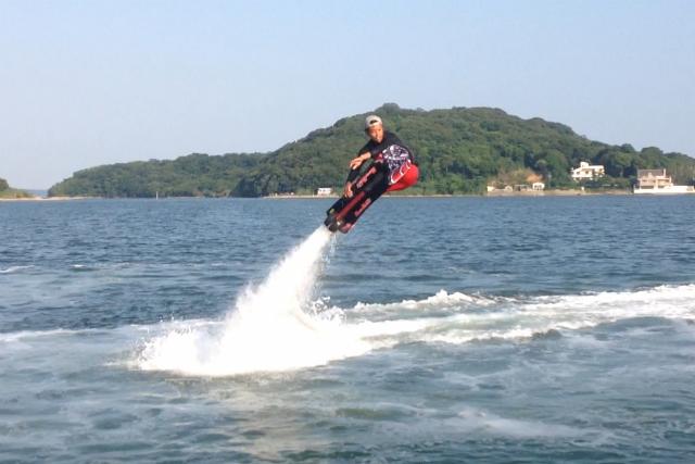 【大阪・ホバーボード】大阪でここだけ!「ときめきビーチ」で空飛ぶサーフィンを体験しよう