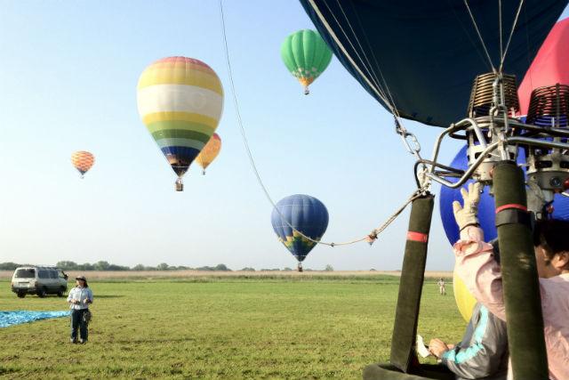 【栃木・渡良瀬・熱気球搭乗体験】1年中楽しめる!栃木で45分のフリーフライト