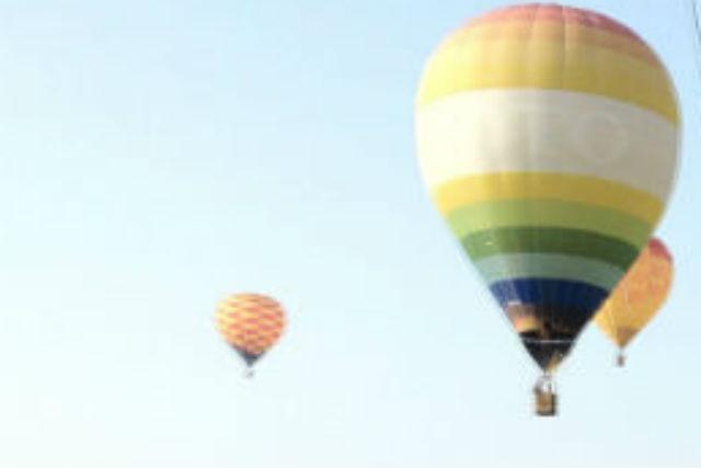 【栃木・渡良瀬・熱気球搭乗体験】特別な日のデートはプライベートフリーフライトで!