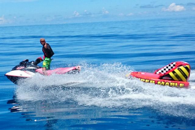 【沖縄・クルージング&ジェットスキー】沖縄の海を味わいつくす贅沢セットプラン!8時間コース