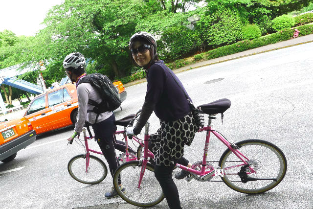 【東京・サイクリングツアー】東京でブラチャリ!スタイリッシュな街めぐりで新発見