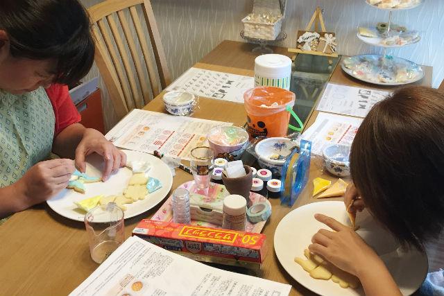 【練馬区・お菓子作り・全2回】失敗しない!アイシングクッキー基礎講座・3時間×2回