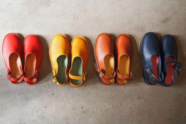 【福岡・靴作り体験】色とりどりのストラップシューズを手軽に自作!