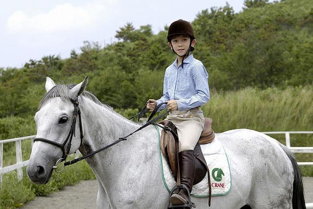 【埼玉・乗馬】もっと馬を乗りこなそう!全3回の子ども乗馬レッスン!★ドリンク付き