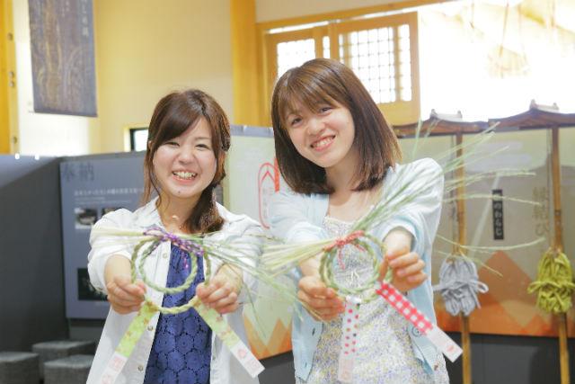 【島根県飯南町・伝統工芸体験】誰でもお手軽に体験できる!しめ縄作り初級コース