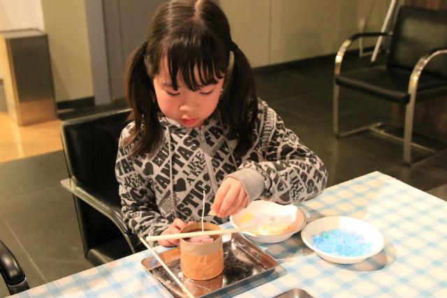 【栃木・日光市・キャンドル作り】手軽にできるステキ体験。円柱キャンドルを作ろう