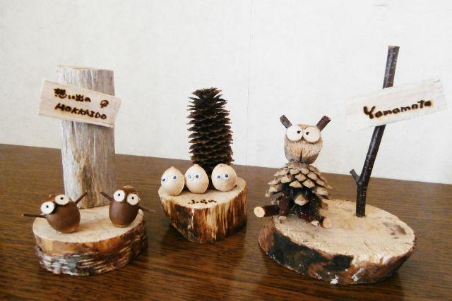 【北海道・富良野・木工体験】気軽に参加できる。約1時間の木工クラフト講習