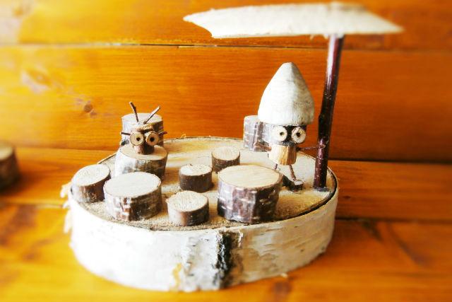 【北海道・富良野・木工体験】木工クラフト作品をたくさんつくろう。講習2時間コース