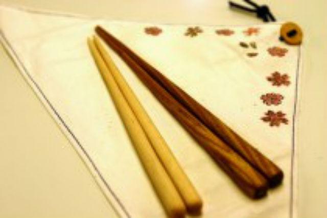 【北海道・富良野・箸作り体験】オリジナルの箸セットを作ろう!エコ箸&箸ケース作りプラン
