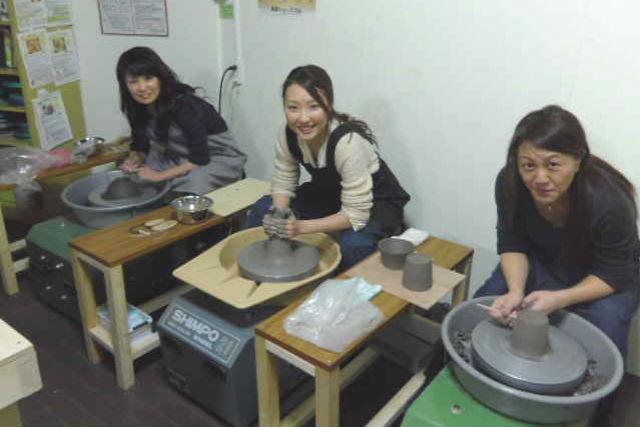【札幌・陶芸】本格的な陶芸をしたい方におすすめ!電動ろくろプラン