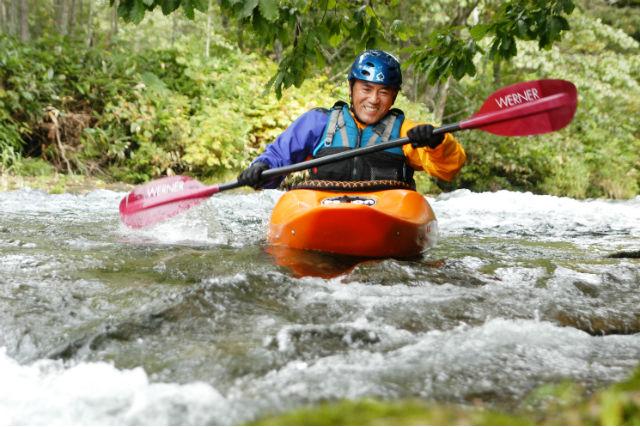 【北海道・十勝・カヤック】川下りの達成感を味わおう!リバーカヤック体験