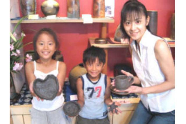 【岡山・備前市・陶芸体験】12歳までのお子さま限定!電気窯で作る備前焼
