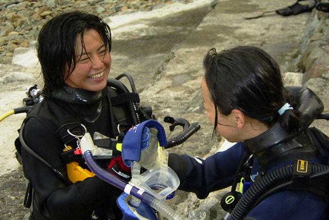 【静岡・西伊豆・体験ダイビング・2回】人気No.1!マンツーマン体験ダイビング