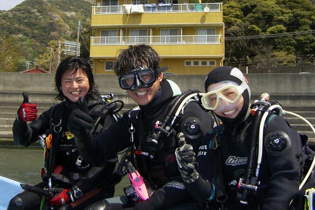 【西伊豆・ファンダイビング】西伊豆の人気スポットへ!2ボートダイビングプラン