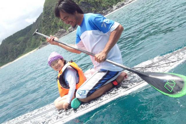 【沖縄北部・SUP】無人島へ行こう!SUPクルージング+シュノーケリング