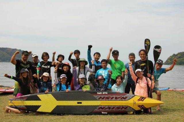 【琵琶湖・SUP】波がしずかな琵琶湖の上で、基本動作を身につけよう。半日のSUP体験
