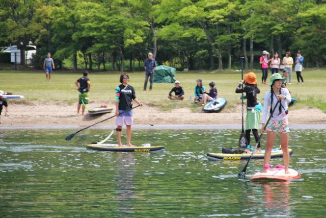 【琵琶湖・SUP】SUPやカヤックで向かおう!琵琶湖最大の島・沖ノ島へ