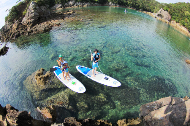 【徳島県海部郡・SUP】のんびりと海のお散歩。SUPクルーズベーシックプラン
