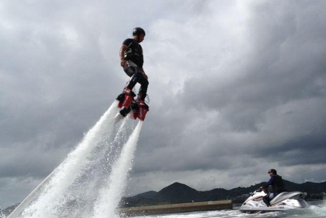 【長崎県・川棚町・フライボード】フライボードをたっぷり楽しめる!15分×2回プラン