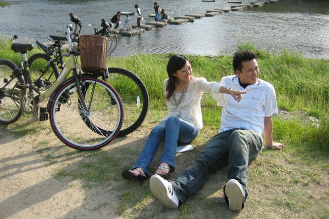 【京都・レンタサイクル・ミドルクロス】スポーティな走りが魅力!京都の風を感じよう