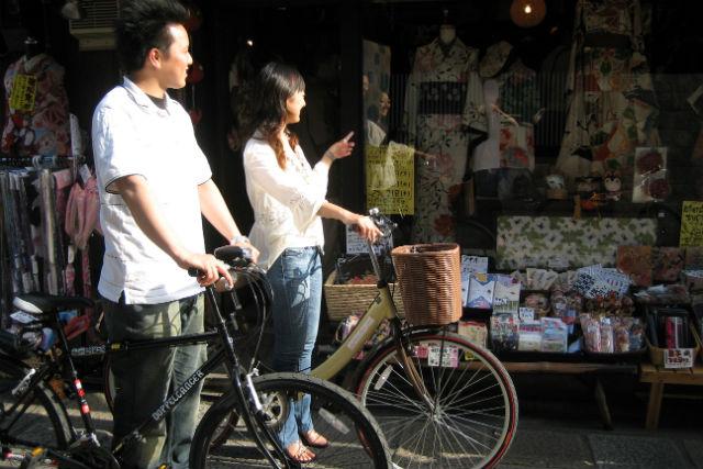 【京都・レンタサイクル・ミドルコンパクト】折りたたみOK!おしゃれな自転車で走ろう