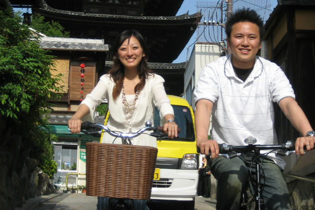【京都・レンタサイクル・電動アシスト】坂道も楽々、走れます!自転車で旅を楽しもう
