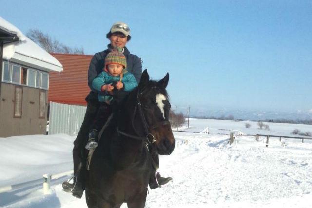 【北海道・乗馬体験】本格レッスンでスピード上達!30分の乗馬体験!