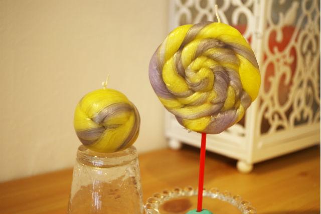 【福岡・博多・キャンドル作り】キャンディーのようなロリポップキャンドルをつくろう!