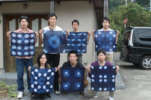 【和歌山・白浜・藍染め体験】日本の伝統文化を気軽に体験!藍染めにチャレンジしてみよう!