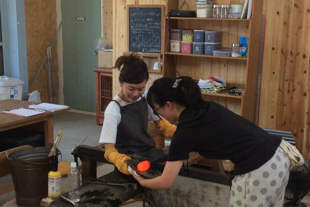 【長野県富士見町・ガラス細工】静かな環境でグラス作りしよう。1時間プラン