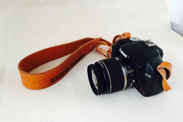 【滋賀・八幡市・レザークラフト】完全オリジナル!カメラにぴったりのストラップ作り