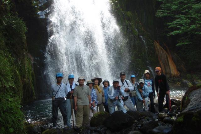 【岐阜・飛騨南部・エコツアー】秘湯気分を満喫!小坂の滝めぐり・材木滝コース