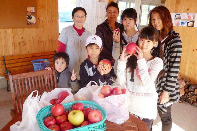 【青森・りんご狩り】秋の楽しみ!真っ赤に実ったりんご狩り体験
