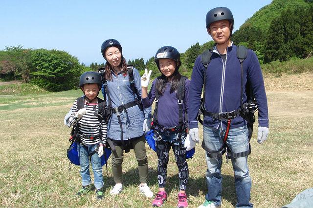 【新潟・尾神岳・パラグライダー】自分の力で飛ぼう!初心者におすすめ体験フライト