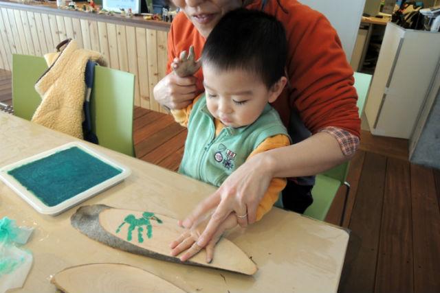 【新潟県十日町・木工教室】里山の植物を使った作品作り!あてまの里・森のホール工作
