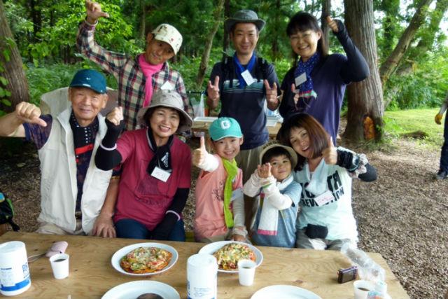 【新潟県十日町・料理体験】生地から自分でつくる!あてまの里・森のピザづくり体験