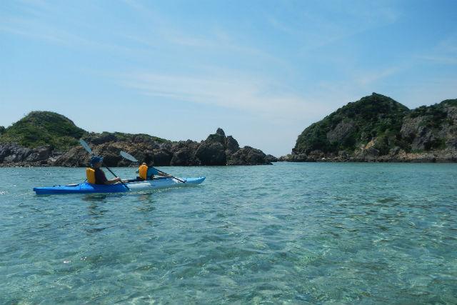 【石垣島・1日・ カヤック】無人島に上陸!シーカヤックで冒険しよう