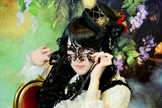 【京都・嵯峨野・ロリータ体験】お好きな衣装を持ち込んで、ロリータ撮影!ローズプラン