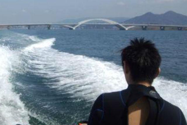 【福岡市・チュービング】ビスケットorバナナボート!スリル満点の海の遊び!