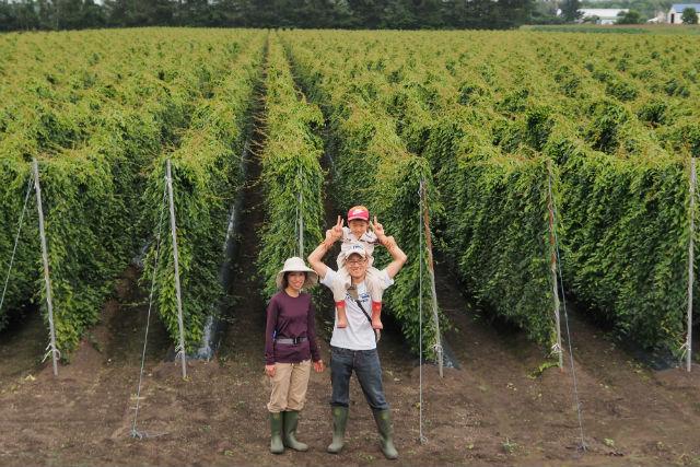 【北海道・帯広・農業体験】ランチ付き!掘り上げた長さにビックリ、長いも収穫体験