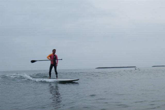 【新潟県・SUP】波に乗ってサーファー気分!SUPサーフィン体験
