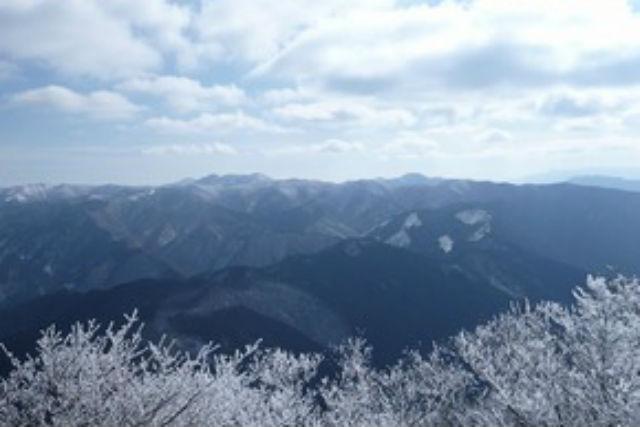 【奈良・大淀町・登山ツアー】高見山の樹氷を観に行こう!高見山・雪山登山プラン
