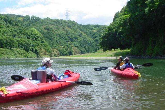 【栃木・那珂川・カヌー】週末はアウトドア人に!感動の那珂川1泊2日・カヌーキャンプツアー