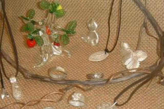 【北海道・ニセコ・シルバーアクセサリー手作り体験 】銀粘土で作るから簡単!シルバーアクセサリー作り