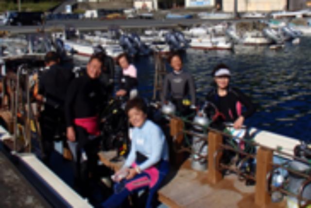 【高知県柏島・ファンダイビング】冬季プラン!3ダイブで一日まるごとダイビング!