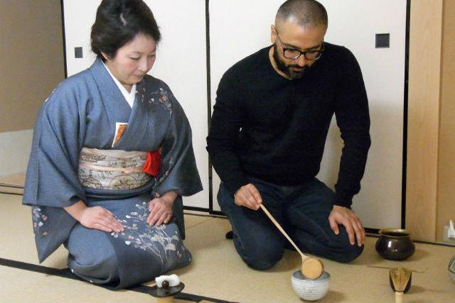【銀座・着物レンタル 】日本の文化を全身で楽しもう!着物&茶道体験