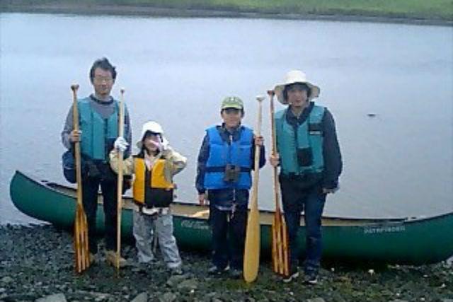【北海道・根室・カヌー】さくっと短時間!カヌーファミリープランで根室を巡る