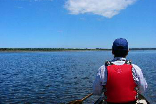 【北海道・根室・カヌー】透明な湖、野鳥の楽園に分け入る!風蓮湖を横断しよう