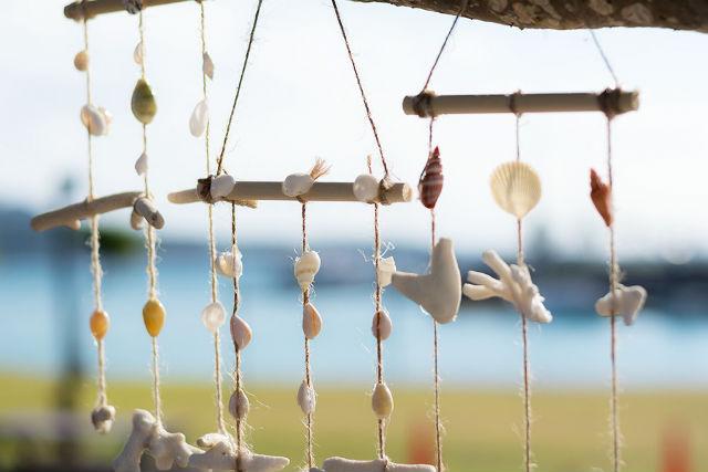 【沖縄・本部町・マリンクラフト】世界でひとつだけ!あなただけのサンゴ風鈴作り