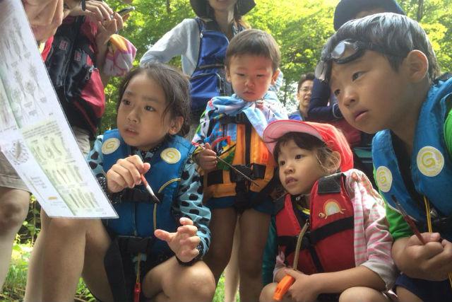 【福島・高森川・自然体験】親子限定の夏休みプラン!高森川ウォーターハンティング